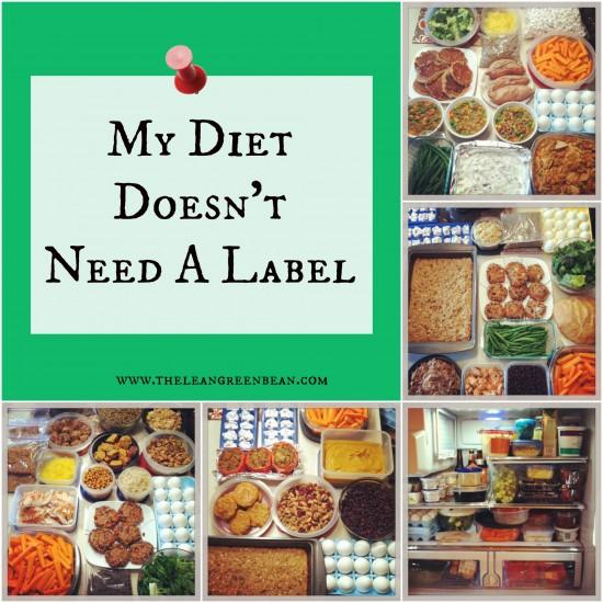 Do you feel like you need to define the way you eat? Check out my thoughts as a Registered Dietitian about why I don't think my diet needs a specific label.