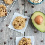 These Peanut Butter Avocado Cookies are gluten-free, dairy-free and packed with healthy fats! Enjoy one for an afternoon snack or for dessert after dinner!