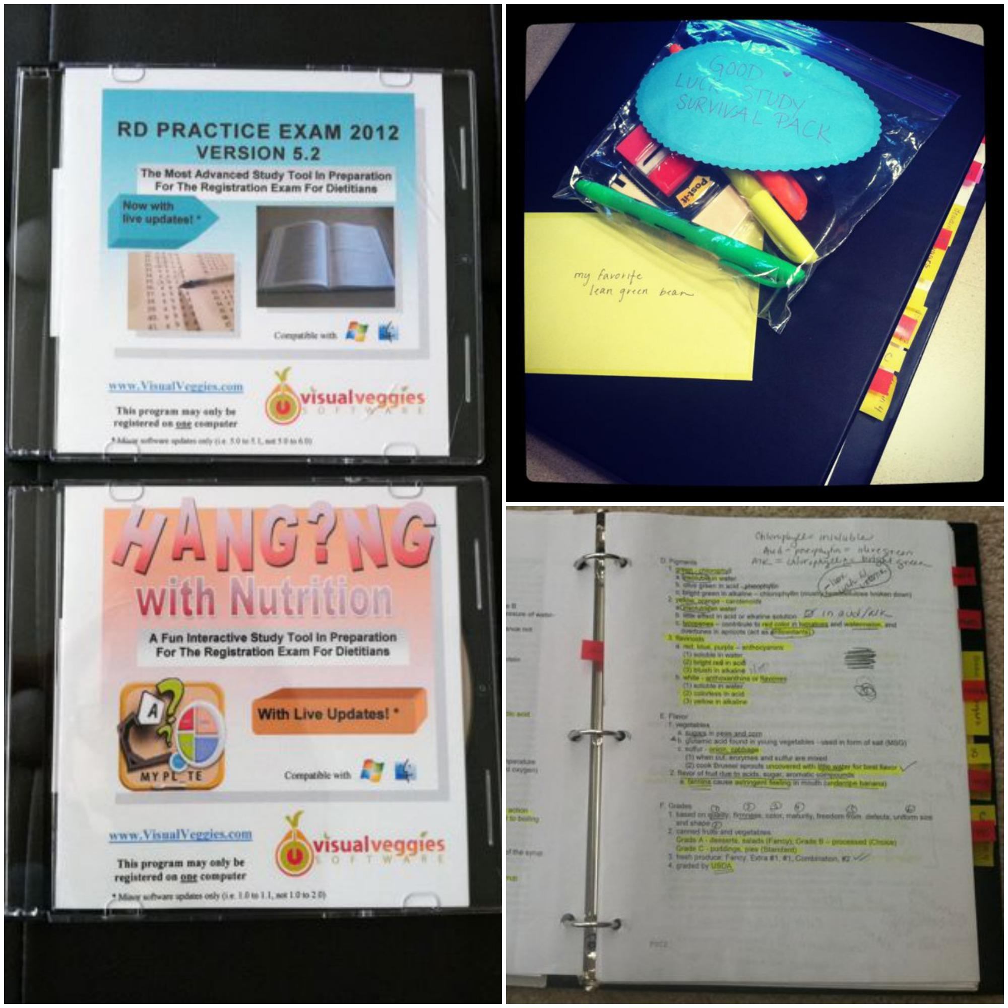 RD study materials How I Passed My RD Exam