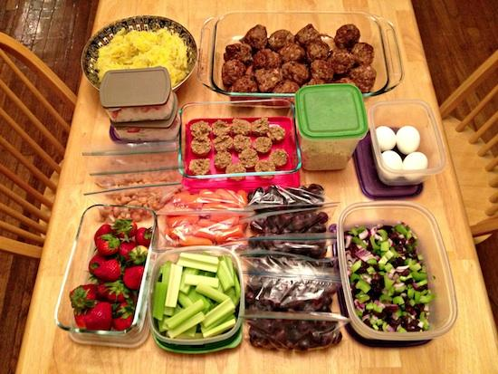 Sunday Food Prep 4.14