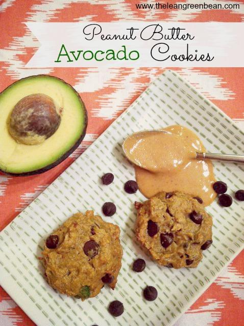 peanut butter avocado cookies 2 Peanut Butter Avocado Cookies