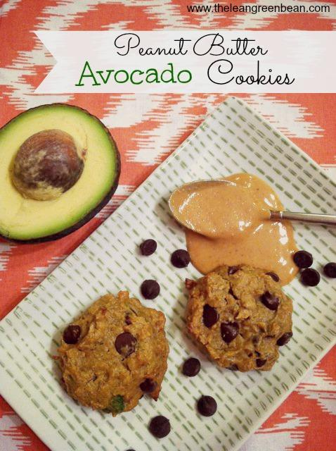 peanut butter avocado cookies1 Peanut Butter Avocado Cookies