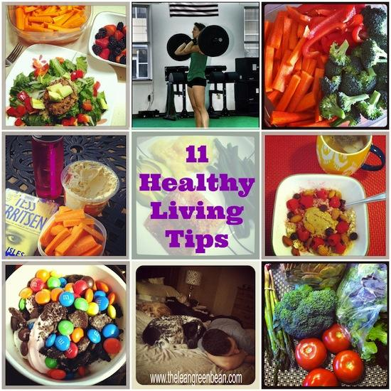 11 healthy living tips 11 Healthy Living Tips