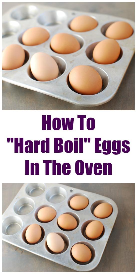How to Hard Boil Eggs in the Oven | Healthy Eating Tips