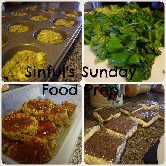 Sunday Food Prep 5-26