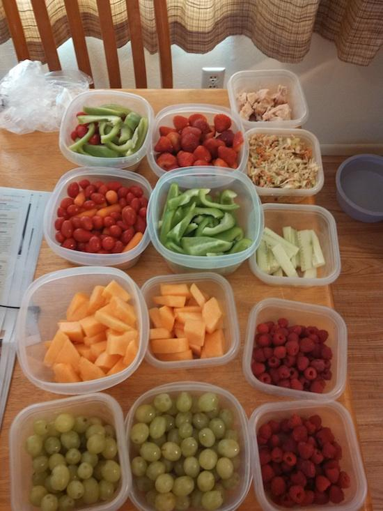 a Sunday Food Prep Inspiration 22