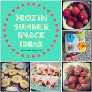 5 Frozen Summer Snack Ideas