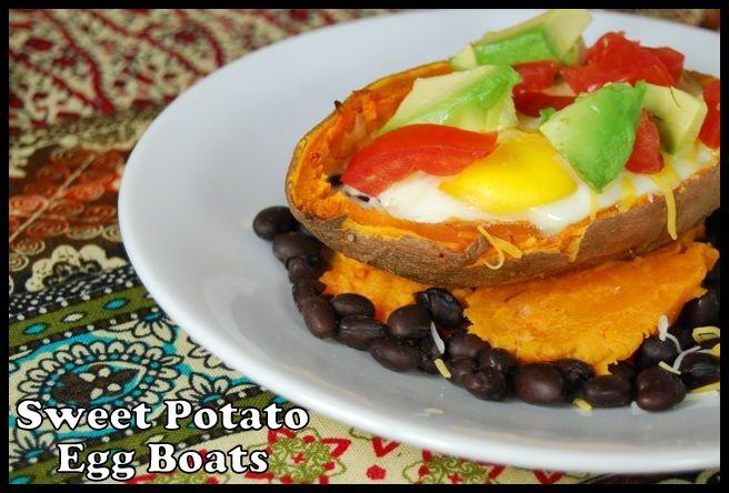 sweet potato egg boats 10 More Healthy Breakfast Ideas