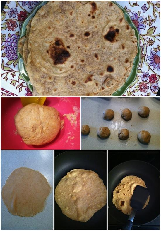 tortilla Homemade Whole Wheat Tortillas