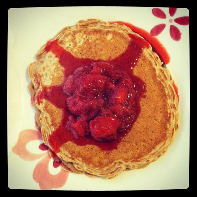 whole wheat oatmeal pancakes 10 More Healthy Breakfast Ideas