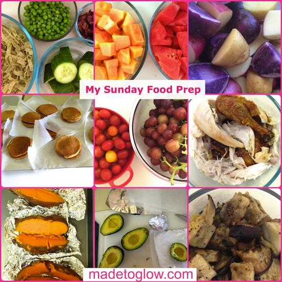 Made to Glow Sunday Food Prep