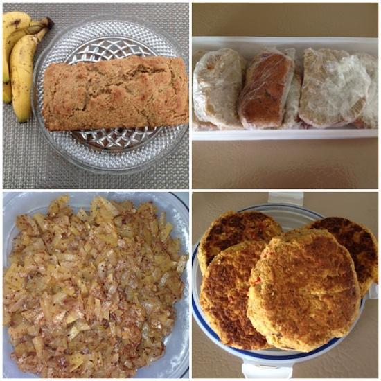 Weekly Food Prep Collage