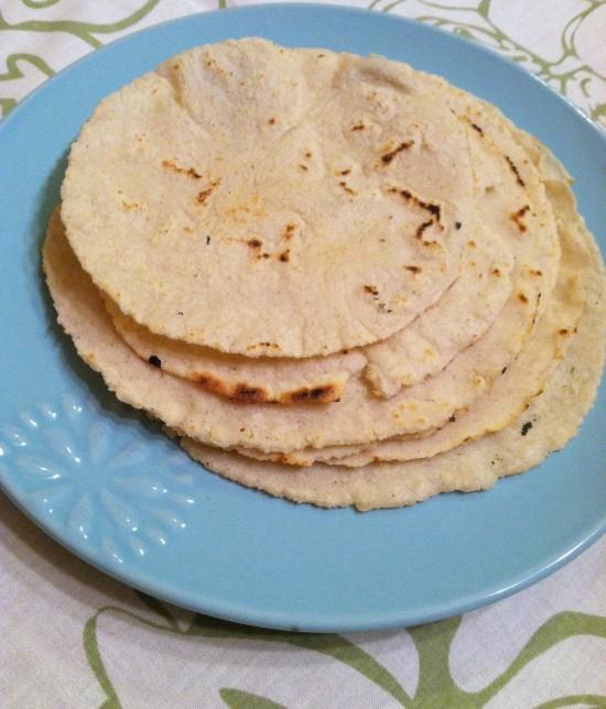 Homemade Corn Tortillas & Homemade Tortilla Chips
