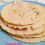 Homemade Corn Tortillas and Tortilla Chips