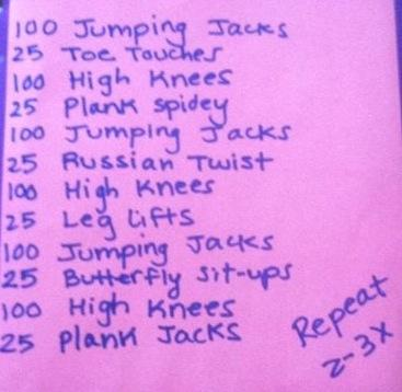22 50 Circuit Workouts