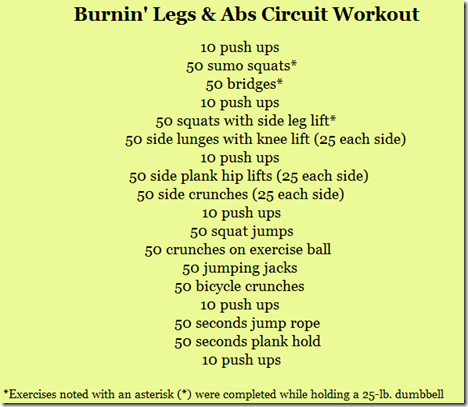 44 50 Circuit Workouts