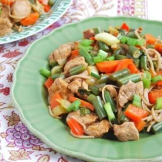 {Recipe Redux} Pork Lo Mein