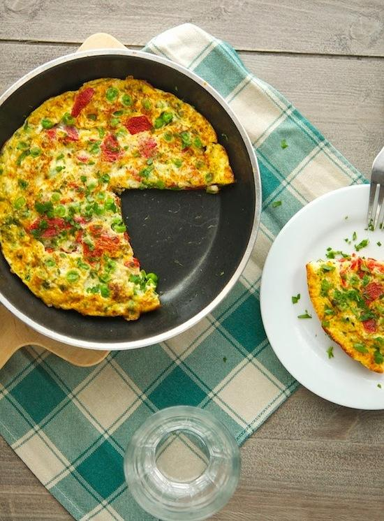 holiday frittata 10 Christmas Breakfast Ideas