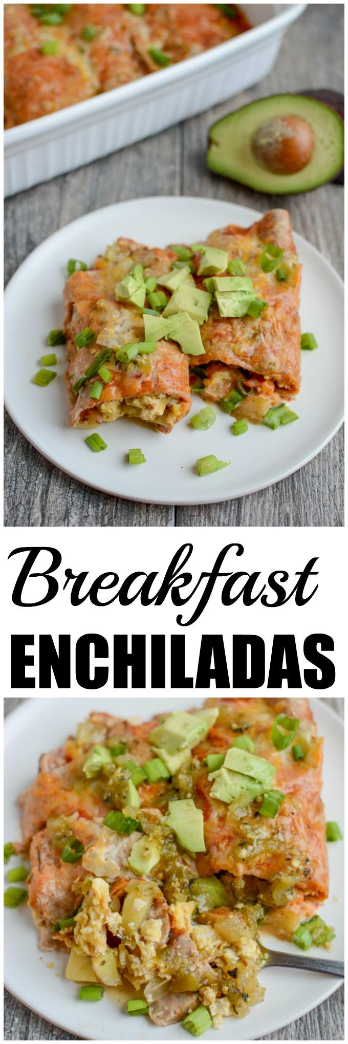 Breakfast Enchilada Casserole | Healthy Breakfast Recipe