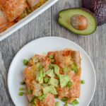 This Breakfast Enchilada Casserole is the perfect brunch dish for when you have company. Prep it the night before and pop it in the oven in the morning.