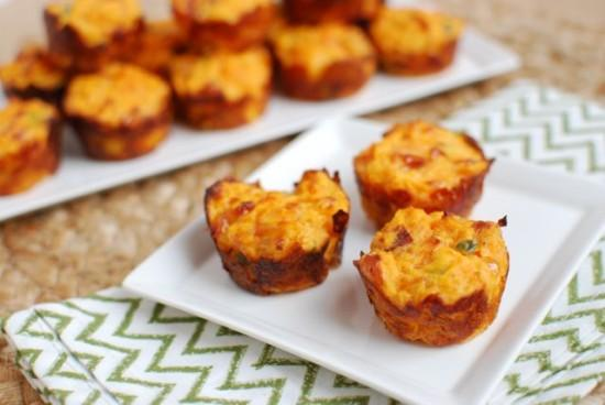 Jalapeno Cheddar Sweet Potato Puffs