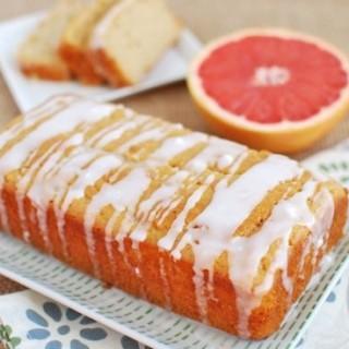 Grapefruit Yogurt Cake