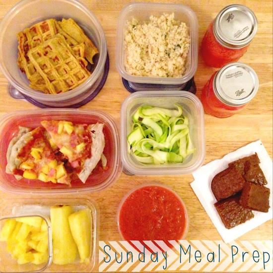 photo 74 Sunday Food Prep Inspiration 50