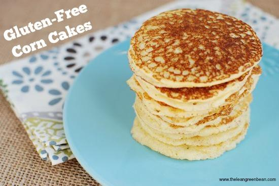 These gluten free corn cakes can go sweet or savory. Top with fruit or syrup like a pancake or make them savory for a fun twist on cornbread.