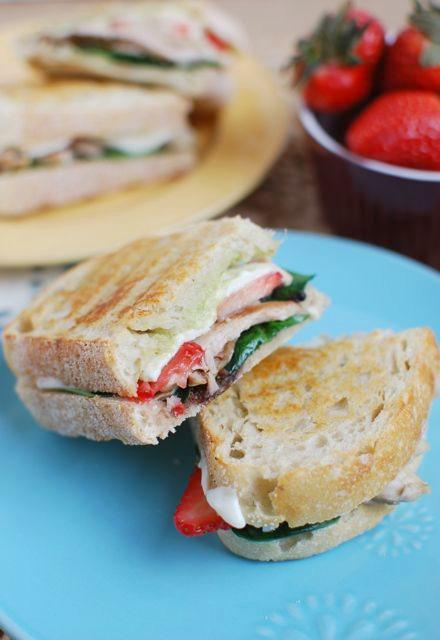 This Balsamic Chicken Strawberry Panini strikes the perfect balance of flavors for a well-balanced lunch!