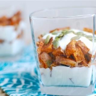 Cinnamon Roasted Sweet Potato Parfait