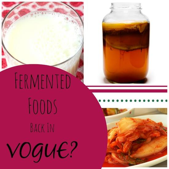 Everything you need to know about fermented foods like kombucha, kefir and kimchi and tips from a Registered Dietitian on how to add them to your diet for healthy probiotics and improved gut health.