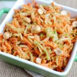 Broccoli Slaw with Peanut Sauce