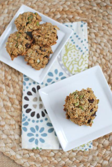 These Healthy Peanut Butter Oatmeal Cookies are packed with healthy fats from nuts and seeds and fiber from oats and whole wheat flour. The perfect way to satisfy your dessert craving!