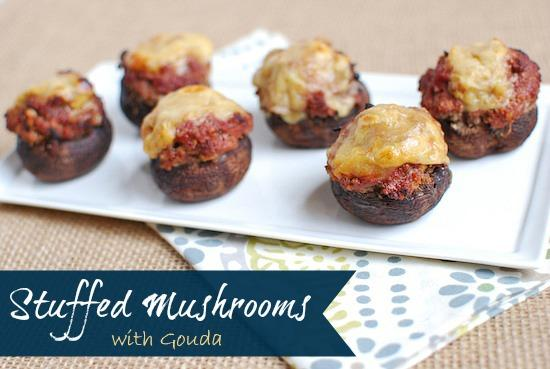 These Grilled Stuffed Mushrooms make a fun summer appetizer!