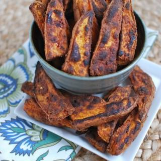 Sweet and Spicy Sweet Potato Wedges