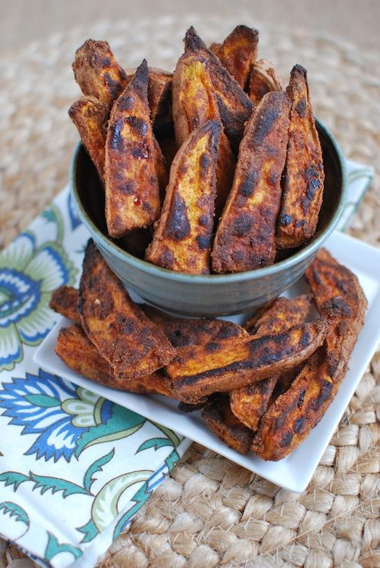 Sweet & Spicy Sweet Potato Wedges