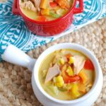 Salmon Corn Chowder