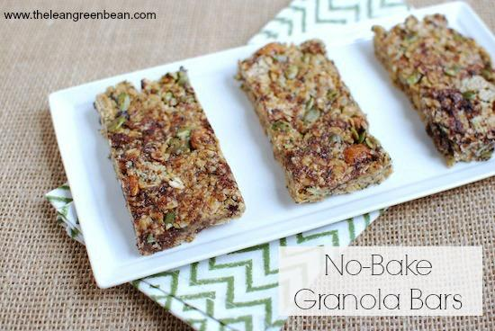 granola bars.jpg No Bake Granola Bars