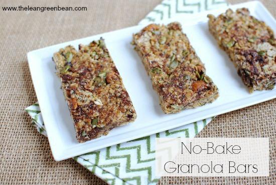 granola bars.jpg No Bake Granola Bars