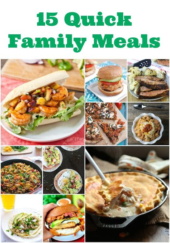 For Those Nights When You Need Dinner In A Hurry Here Are 15 Quick Family