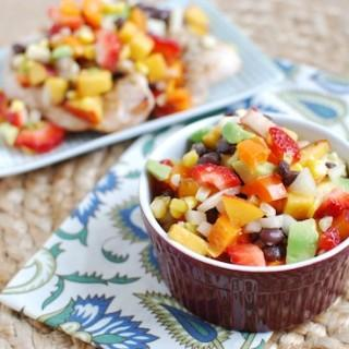 Wild Blueberry & Corn Salsa