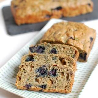 Wild Blueberry Zucchini Bread