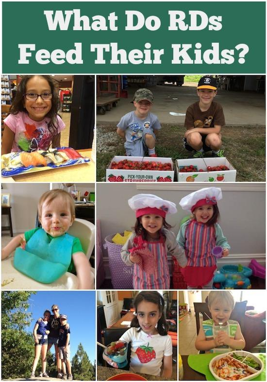 Need some new healthy meal and snack ideas for your kids? Here's what some Registered Dietitians feed their kids.