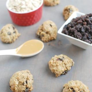Freezer Oatmeal Raisin Cookies