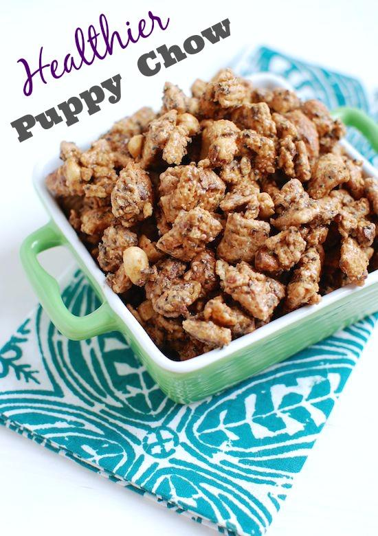 Healthier puppy chow your favorite childhood snack gets a makeover this healthier puppy chow is healthy enough to forumfinder Gallery