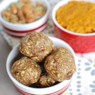 pumpkin energy balls