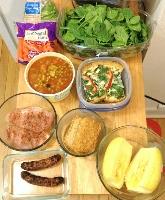 Sunday Food Prep 9-14-2014
