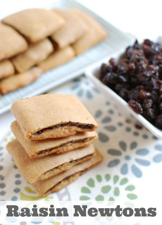 Like Fig Newtons? These homemade Raisin Newtons are made with real ingredients and taste even better than store bought. They make the perfect afternoon snack and your kids will love them.