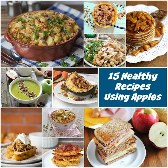 Looking for some new ways to use your favorite fall fruit? Here are 15 Healthy Recipes Using Apples