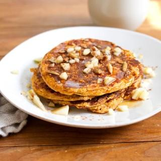Pancakes That Are Full Of Protein And Great Flavors. The Oatmeal And Cottage  Cheese Make For A Great Texture.